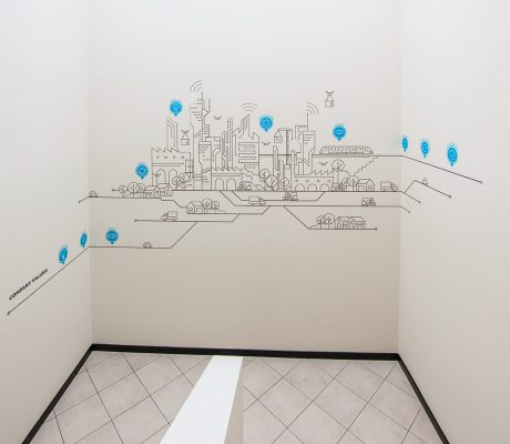 Axima – Murales The City of the Future